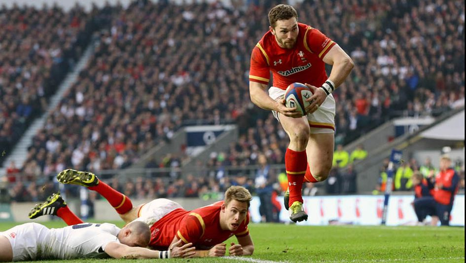 Ailier : George North (Galles)
