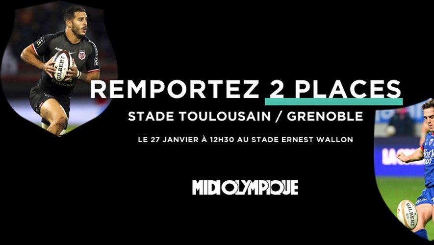 Vibrez pour Stade Toulousain - Grenoble!