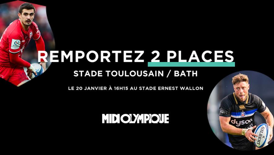 Vibrez pour Stade Toulousain - Bath !