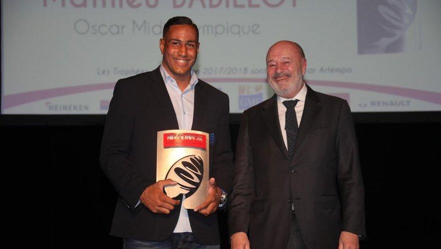 Oscar Midi Olympique : Babillot sacré