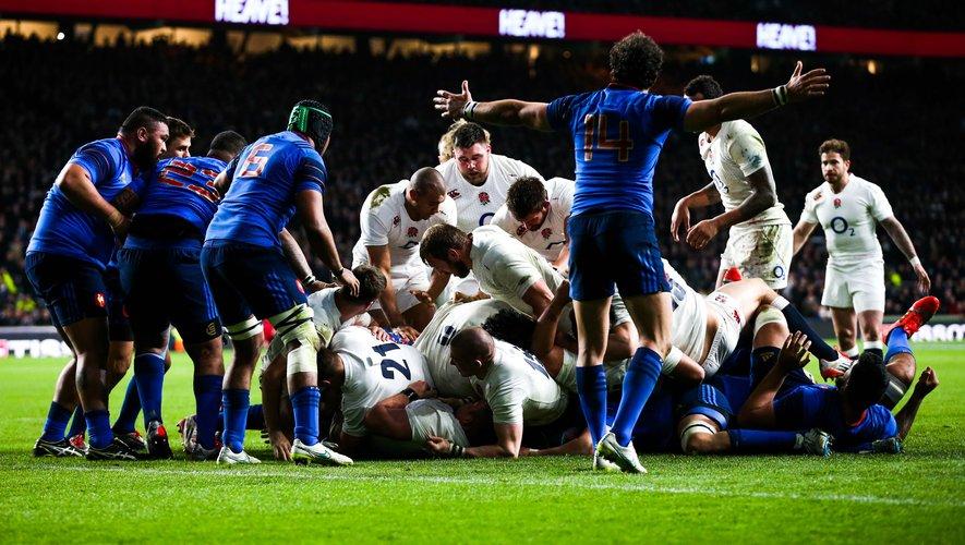 Crunch : le top 5 des Angleterre - France