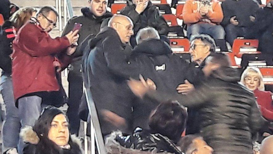 Toulon : Guy Novès et Bernard Laporte dans les tribunes