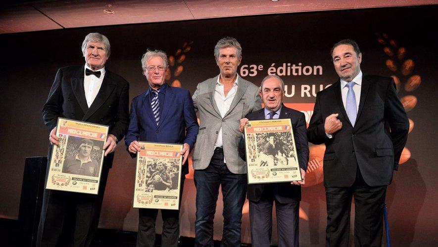Walter Spanghero, Jean-Pierre Rives et Jean Gachassin