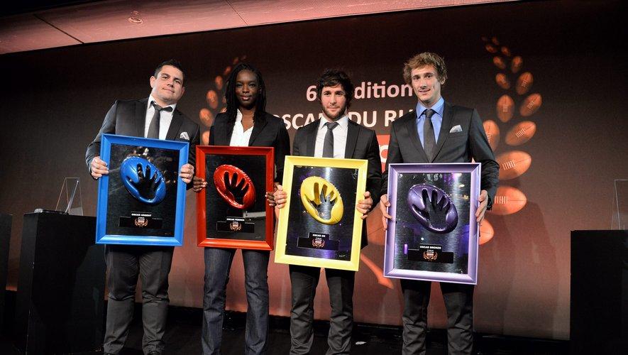 Émotion, rires, souvenirs…le rugby a été honoré à la 63e cérémonie des Oscars Midi Olympique