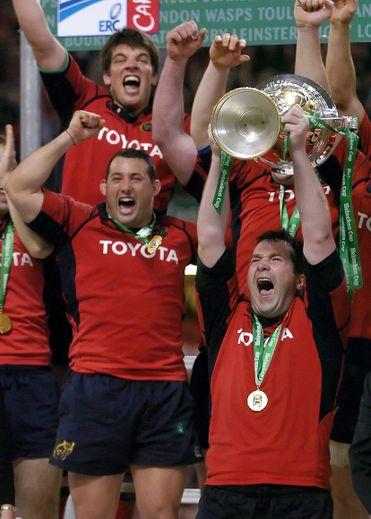 Décès d'Anthony Foley: le monde du rugby en deuil