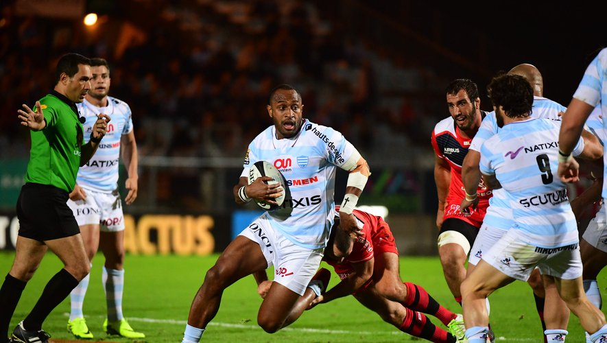 Le Racing refroidit Toulouse