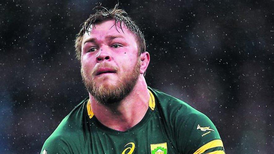 Vermeulen : « Je serai toujours là pour les Springboks »