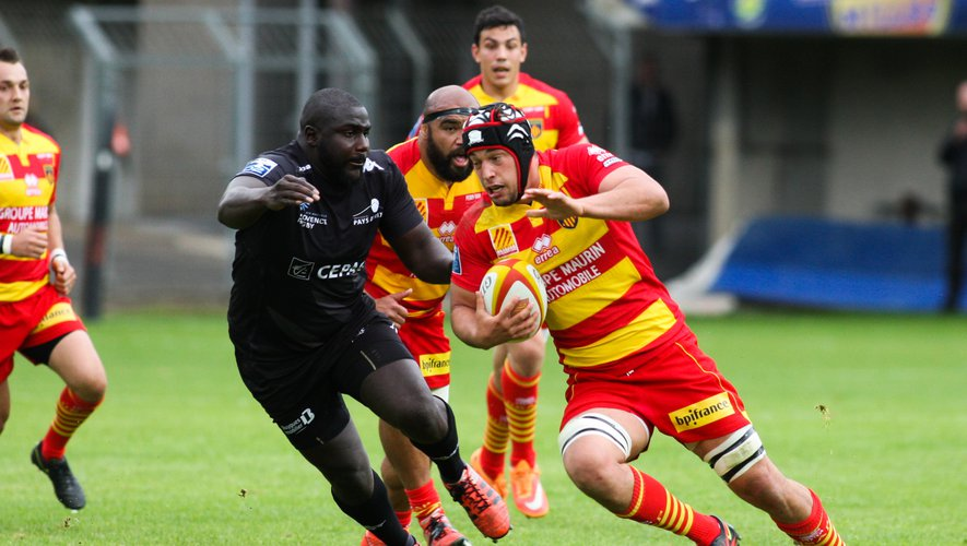 L'USAP coule Provence Rugby