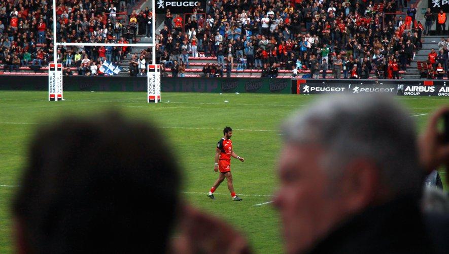 """<font size=""""2"""">Clément Poitrenaud a joué l'un de ses derniers matchs devant le public d'Ernest Wallon.</font>"""