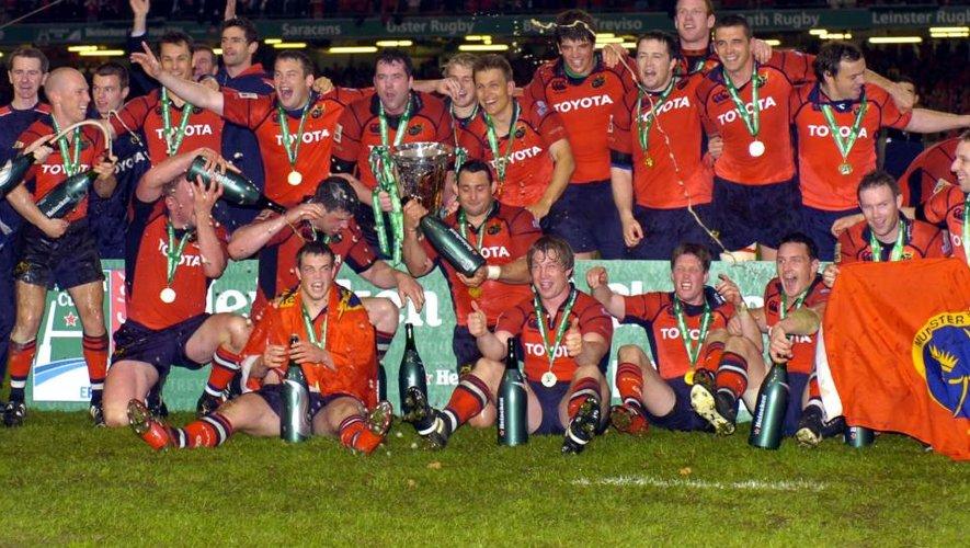 2006 : il y a dix ans le Munster triomphait en Europe