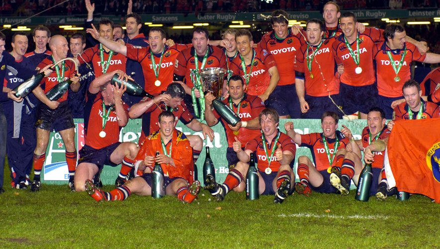 2006: il y a dix ans le Munster triomphait en Europe