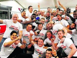 LOU : Au cœur de la soirée des champions