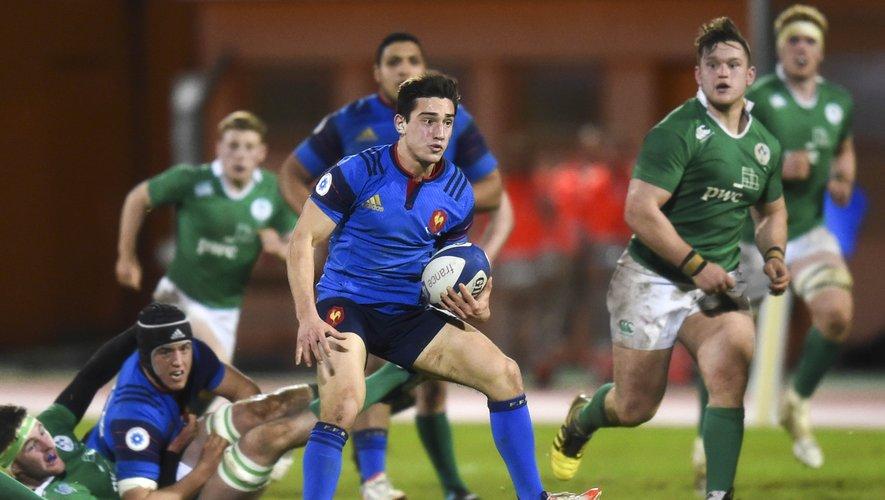 France -19: L'équipe face à l'Irlande