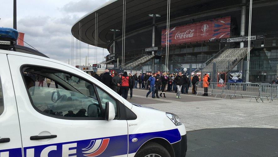 Jour de match au Stade de France