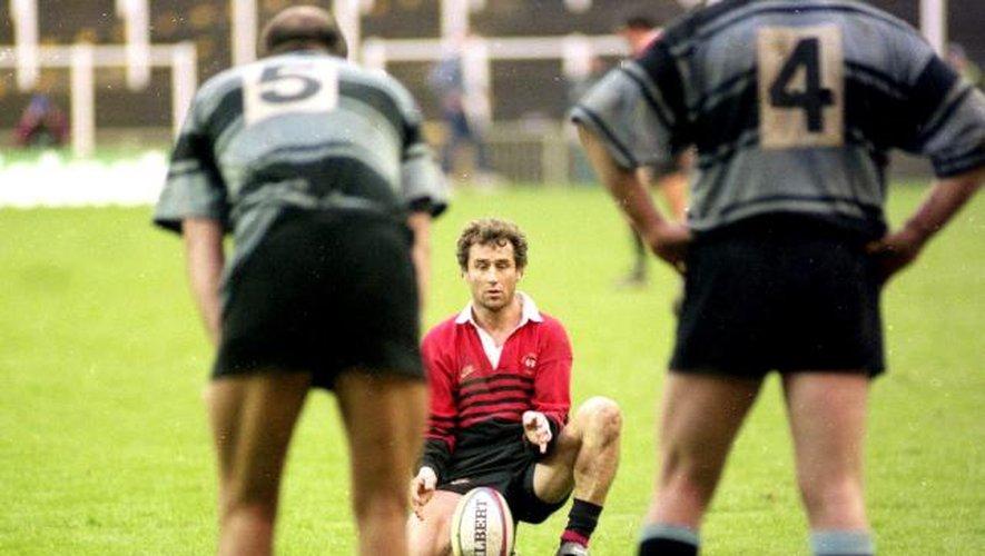 """<p class=""""txt-legende-2011""""><B>Christophe DEYLAUD - 07.01.1996 - Toulouse / Cardiff RFC - Première Finale de la H Cup Photo : Bernard Garcia</B></p>"""