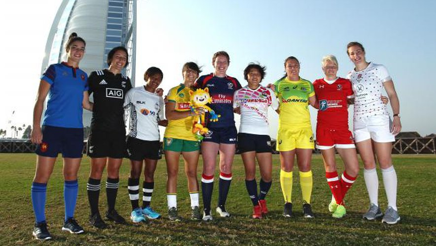 Rugby à VII : Les féminines à Clermont