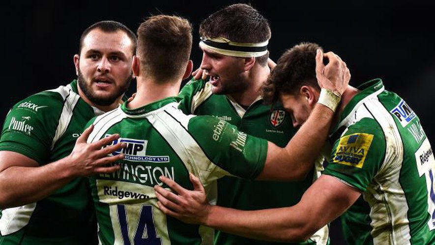 London irish : le spectre de la descente