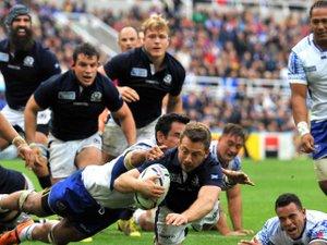 L'Ecosse se qualifie difficilement en quarts face aux Samoa