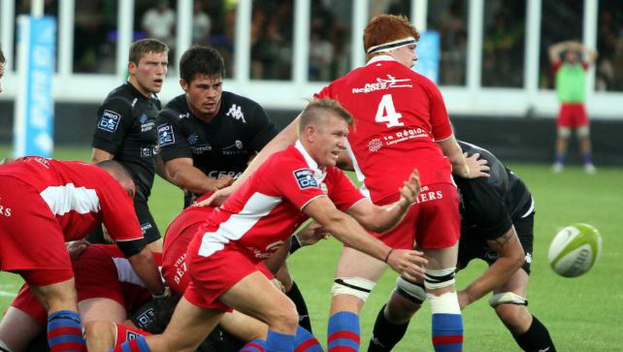 Béziers trop fort pour Provence Rugby