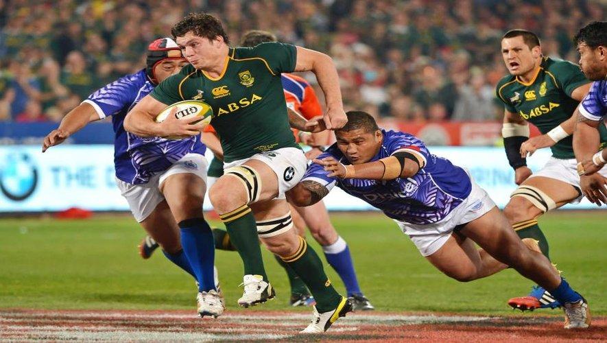 L'Afrique du Sud sur la voie royale vers les quarts