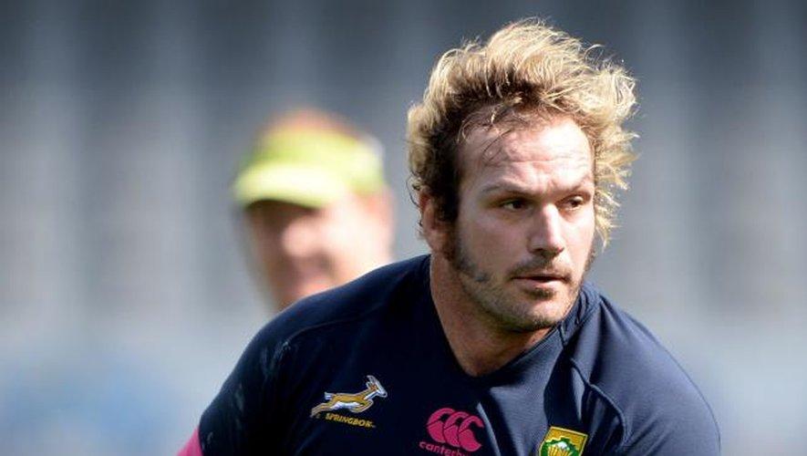 Du Plessis : liés, jeu !