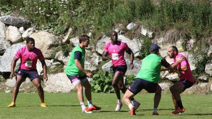 Le Stade Français se ressource à Val d'Isère