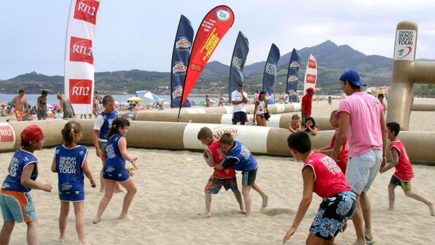 Le beach rugby arrive à Gruissan