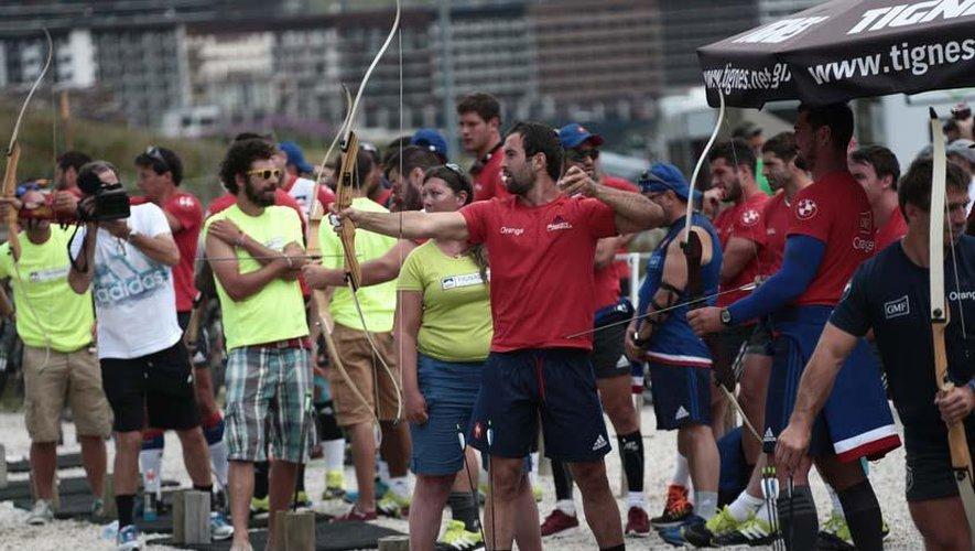 "<p class=""txt-legende-2011""><B>Reportage photographique Midi Olympique - Patrick Derewiany</B></p>"
