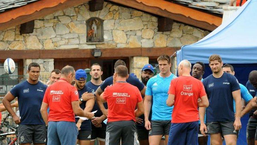 Huit joueurs contrôlés, les Bleus en « activité »
