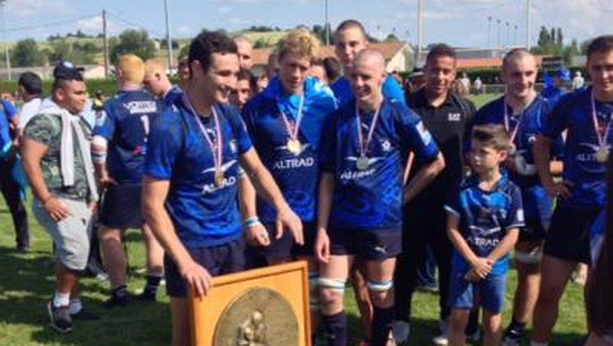 Les Crabos de Montpellier champions !