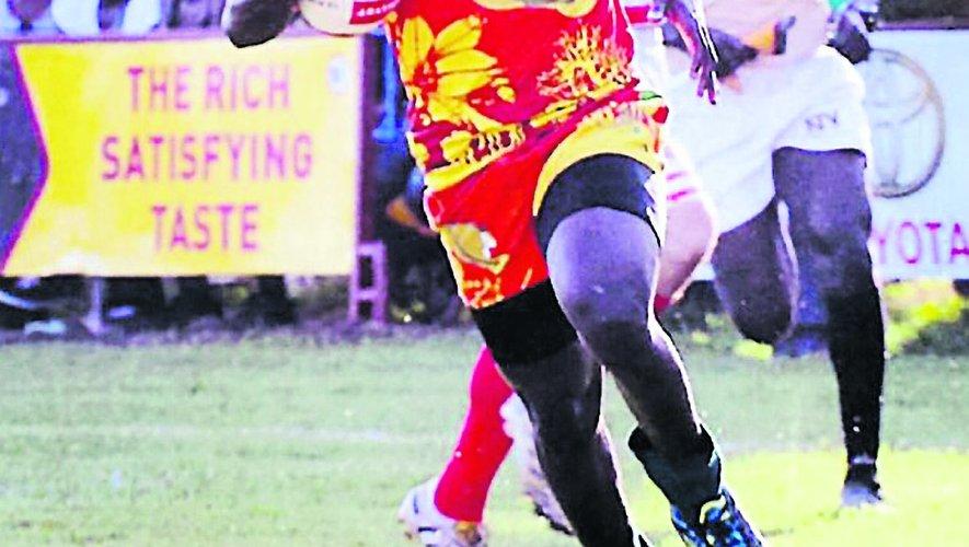 Georges Mendy (ici au côté de Mustapha Ndiaye), international sénégalais, est une terreur en Fédérale 2 avec 15 essais inscrits avec son club. Mais son projet passe avant tout, celui de permettre au rugby sénégalais de se développer. Photo DR