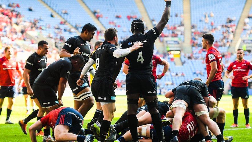 Maro Itoje et les Saracens ont surclassé le Munster en demi-finale de Champions Cup