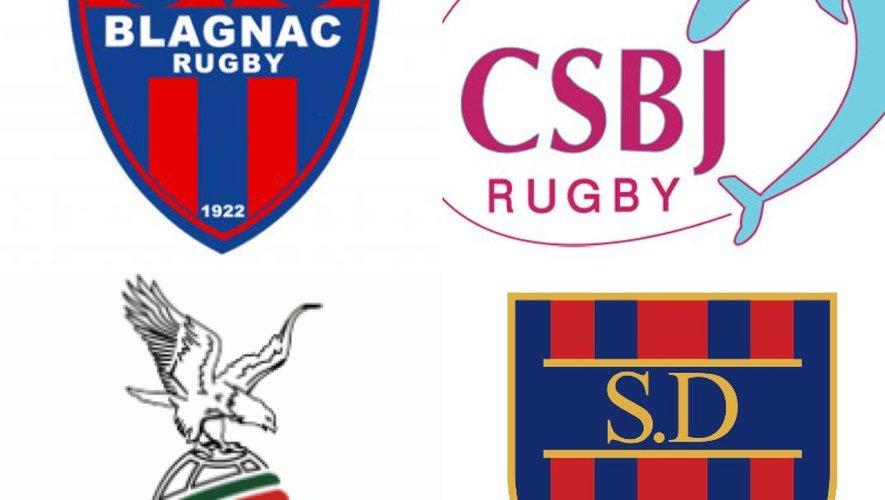 Blagnac, Dijon, Bourgoin et Saint-Jean de Luz ne peuvent pas monter en Pro D2