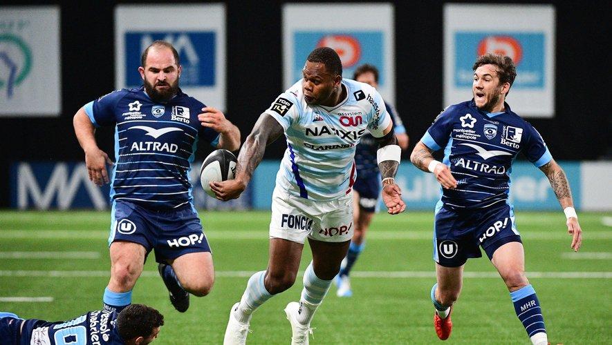 Virimi Vakatawa et les siens s'étaient fait peur contre Montpellier. Ils devront impérativement se rassurer à Pau. Photo Icon Sport