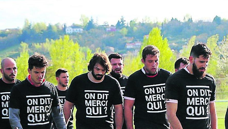 Avec un maillot spécial, Quentin d'Aram de Valada peut raccrocher les crampons l'esprit libre.