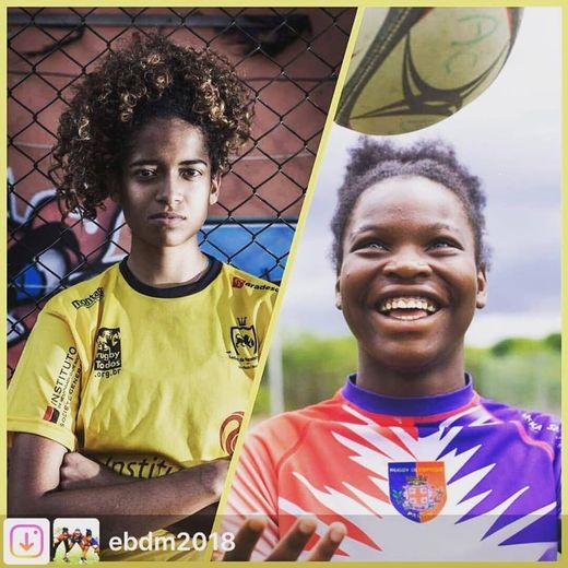 Pour les filles de Sao Polo et de Pantin, c'est même combat pour la défense de leur pratique du rugby.