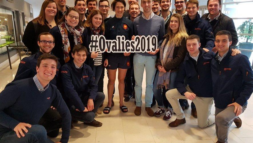 Jessy Tremoulière, la meilleure joueuse du monde de l'année 2018, parraine la manifestation organisée par les élèves ingénieurs de Beauvais, qui est devenue le plus grand tournoi universitaire caritatif d'Europe.