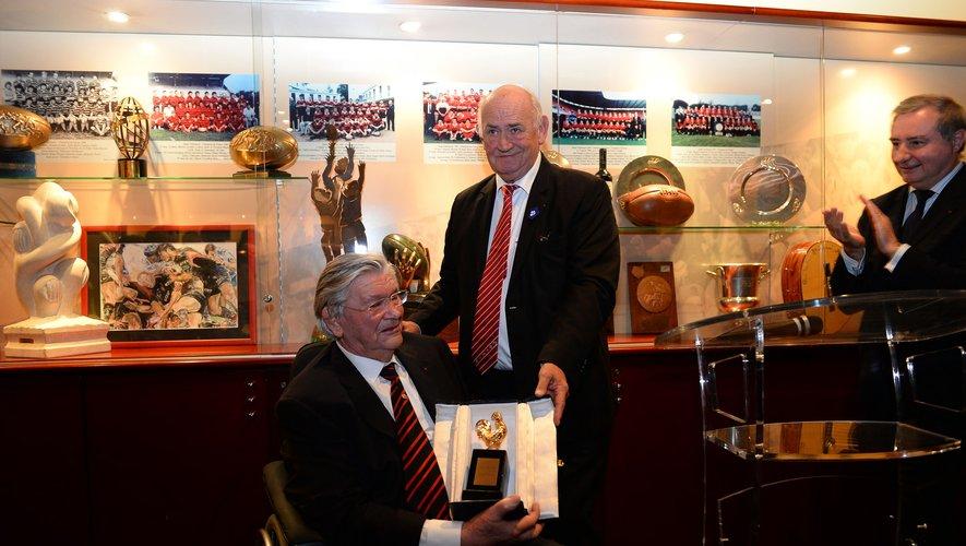 En 2013, Henri Fourès avait été honoré par Pierre Camou, alors président de la FFR