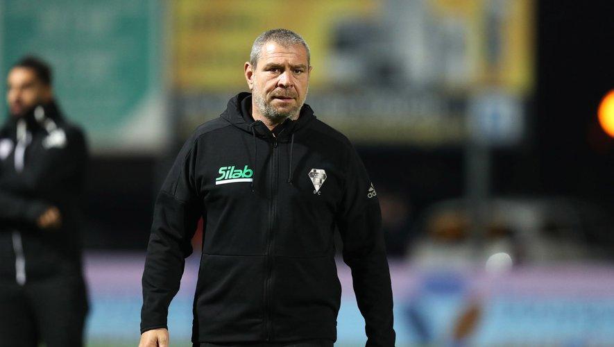 Didier Casadei, entraîneur des avants brivistes