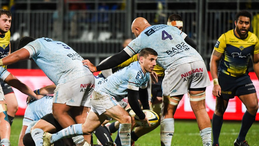 Pro D2 - Guillaume Rouet (Bayonne) face à Nevers