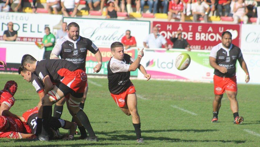 Les Dacquois ont été stoppés en quarts de finale de Jean-Prat. Mais reviendront plus forts. Photo DR