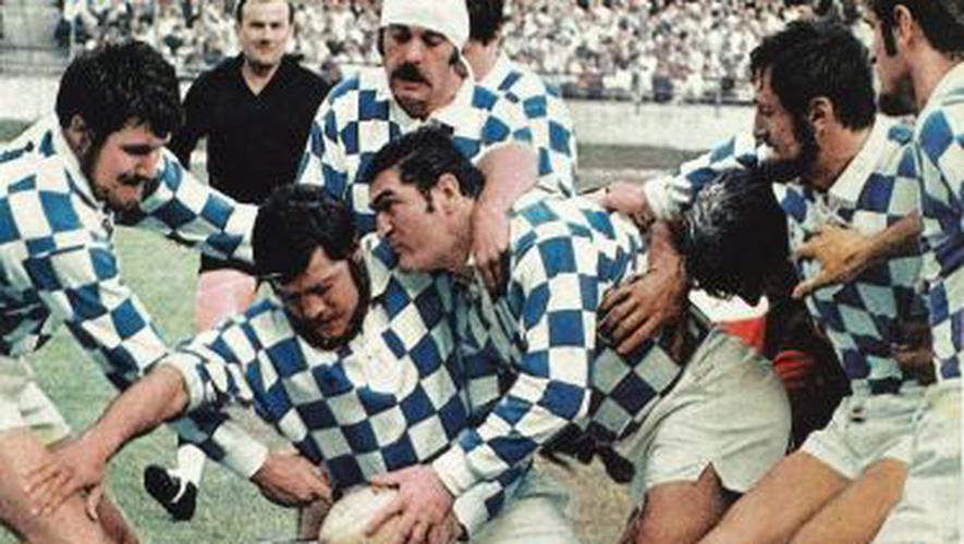 L'équipe de Bègles de 1969