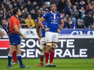 Yoann Maestri (France) contre les Fiji lors des Test Match de novembre