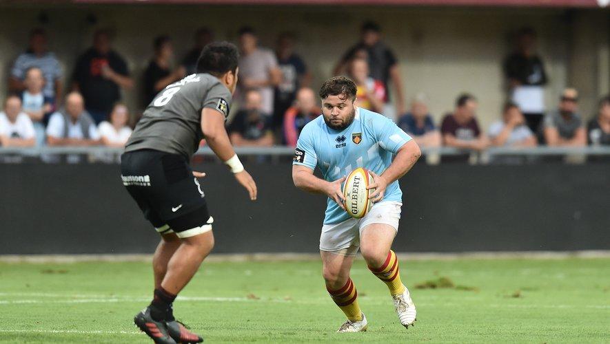 Enzo Forletta face à Toulouse