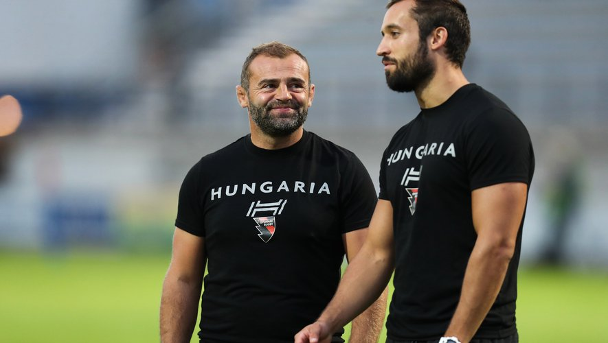 Head coach Adrien Buononato of Oyonnax during the French Pro D2 Colomiers Rugby and US Oyonnax on August 31, 2018 in Colomiers, France. (Photo by Manuel Blondeau/Icon Sport)