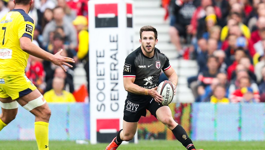 Zack Holmes (Toulouse) contre Clermont