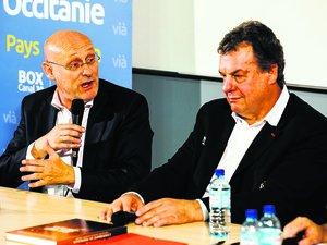 Bernard Laporte et Marc Palanques