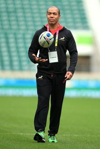 Ricardo Loubscher était notamment l'adjoint de Heyneke Meyer lors de la Coupe du monde 2015. Photo Icon SPort