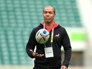 Ricardo Loubscher était notamment l'adjoint de Heyneke Meyer lors de la Coupe du monde 2015. Photo Icon SPort