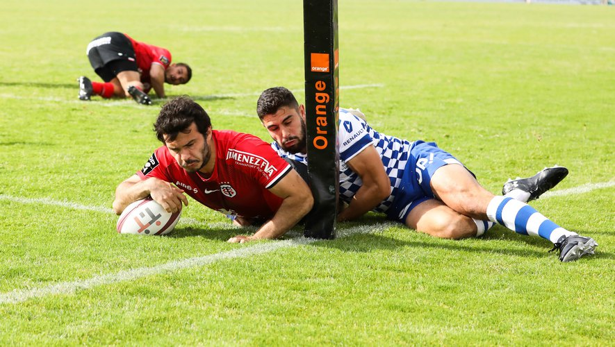 Top 14 - Arthur Bonneval (Toulouse) contre Bordeaux